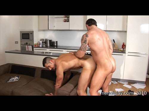Men at play forced entry