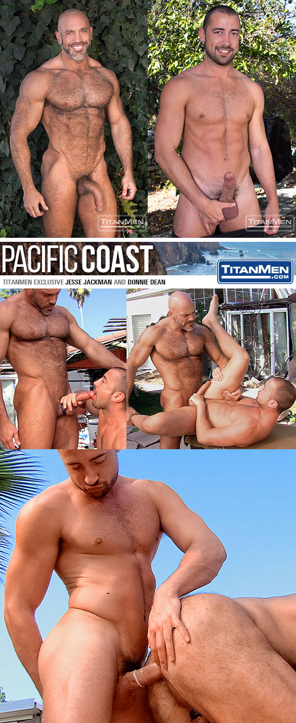 "TitanMen: Jesse Jackman and Donnie Dean bang each other in ""Pacific Coast"""