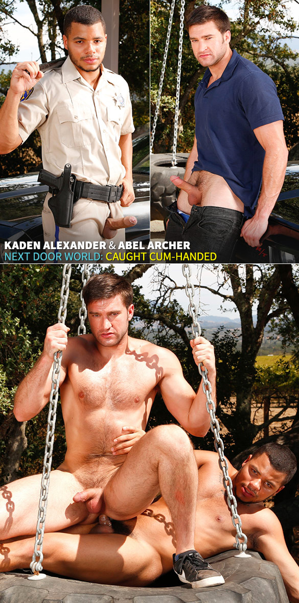 "Next Door Studios: Kaden Alexander fucks Abel Archer in ""Caught Cum-Handed"""
