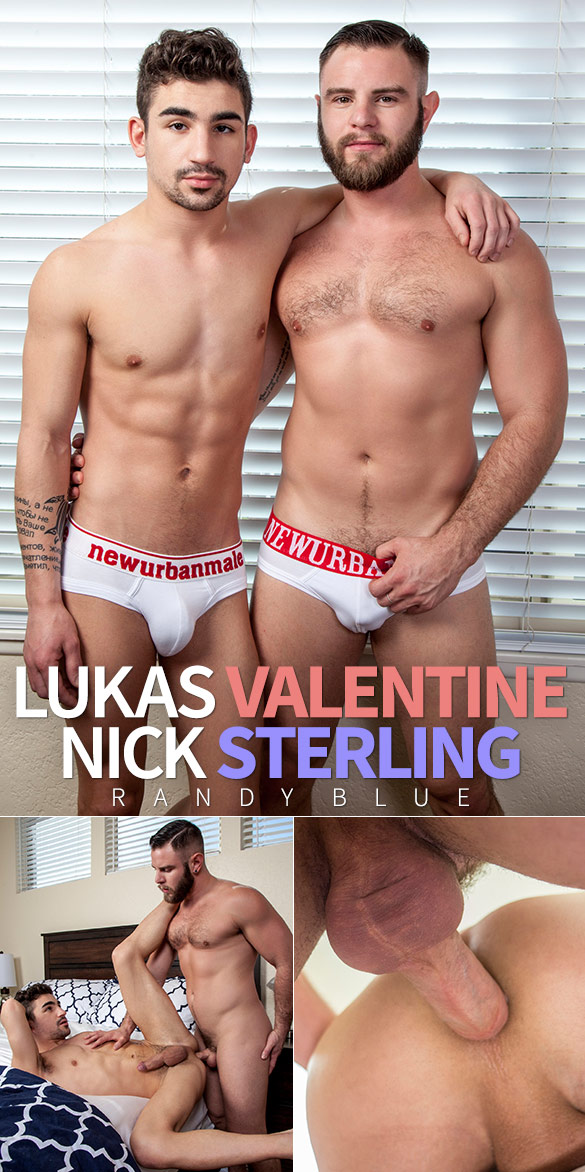 Randy Blue: Nick Sterling makes his bareback debut with Lukas Valentine