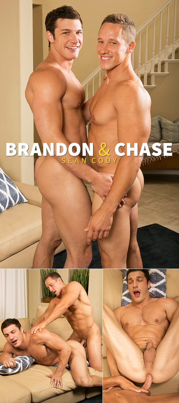 Sean Cody: Brandon gets fucked raw by Chase