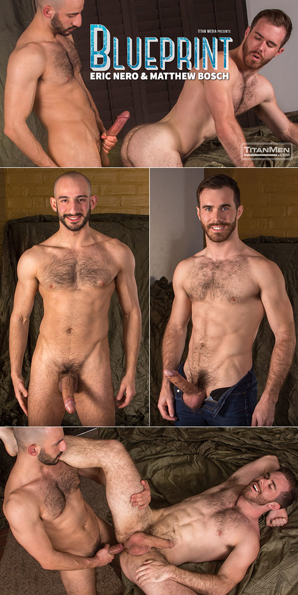 "TitanMen: Matthew Bosch gets fucked by Eric Nero and his 9-inch dick in ""Blueprint"""