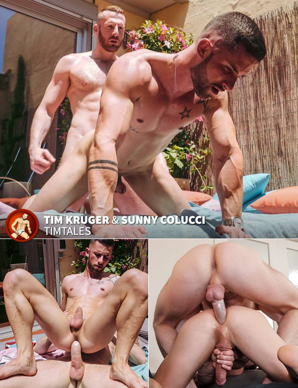 TimTales: Sunny Colucci takes Tim Kruger's big dick like a champ