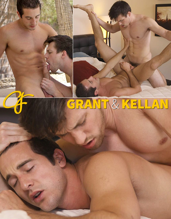 Corbin Fisher: Kellan pops Grant's ass cherry