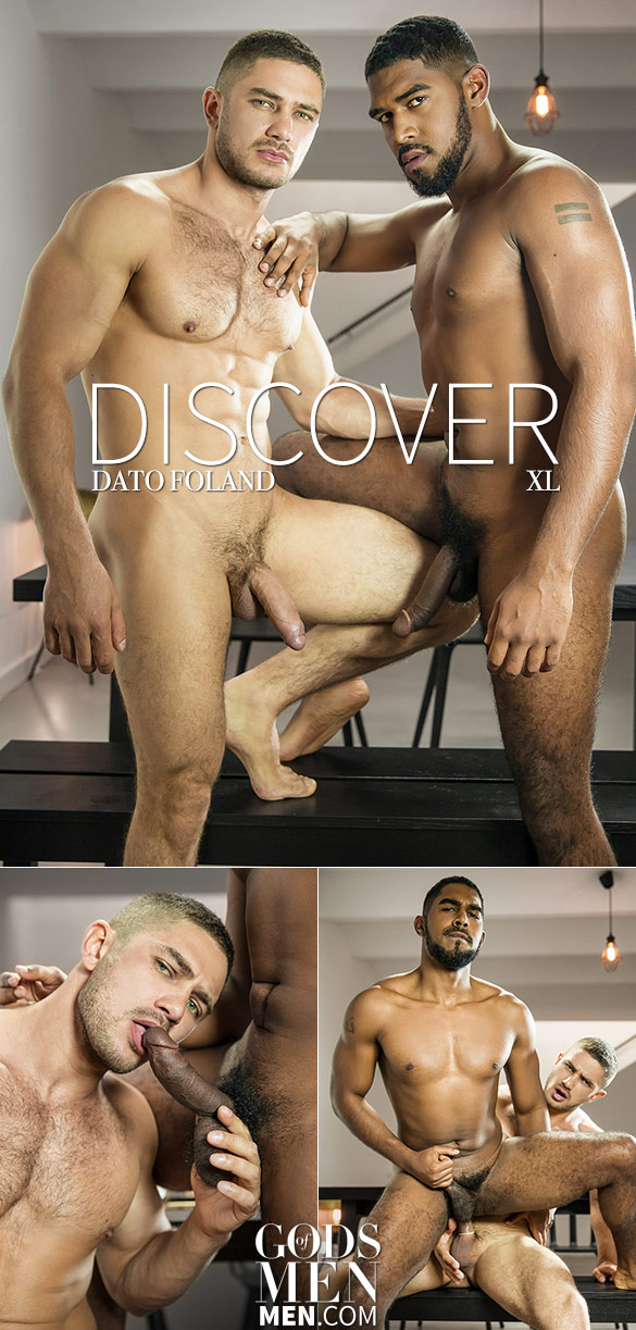 "Men.com: XL bottoms for Dato Foland in ""Discover"""