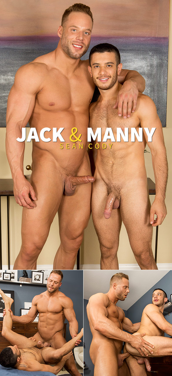 Sean Cody: Jack fucks Manny raw