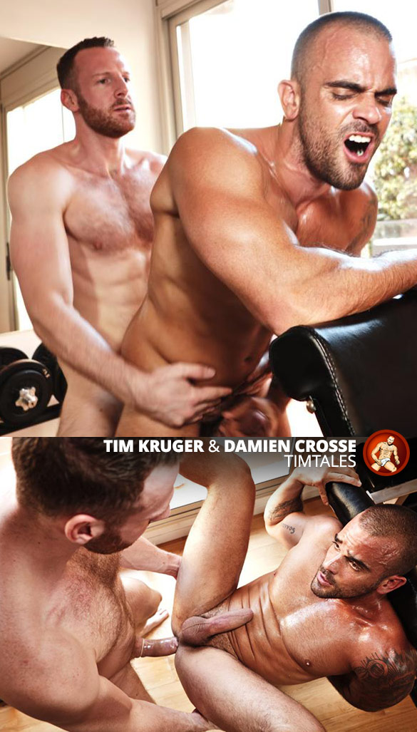 TimTales: Tim Kruger pounds Damien Crosse