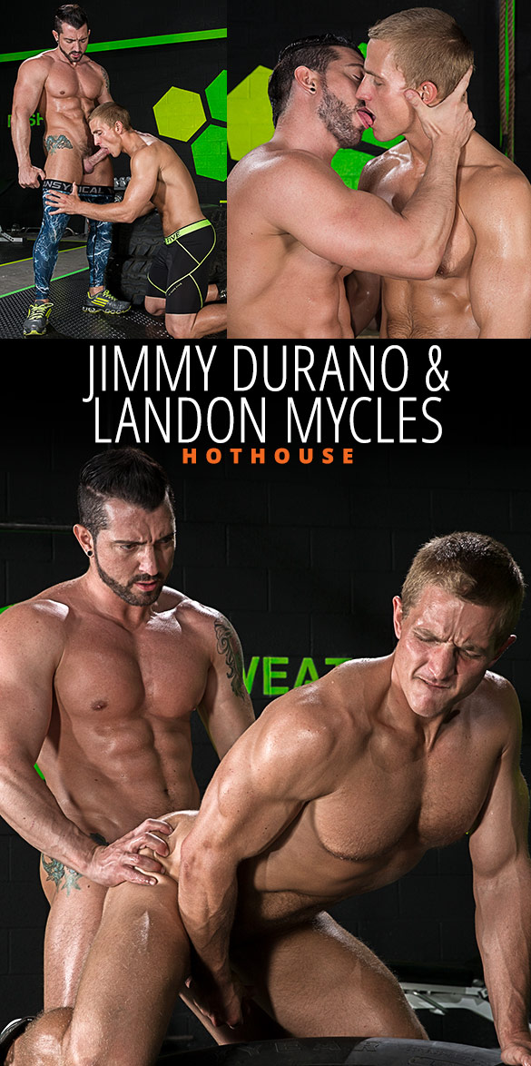"HotHouse: Jimmy Durano pounds Landon Mycles in ""The Trainer"""