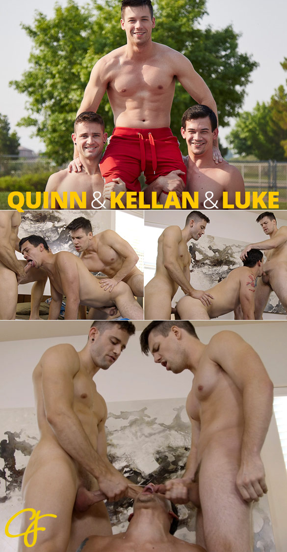 Corbin Fisher: Kellan, Quinn and Luke's raw threesome