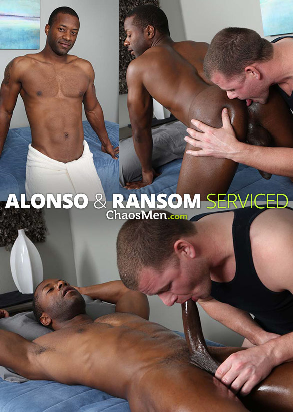 ChaosMen: Alonso and Ransom blow each other