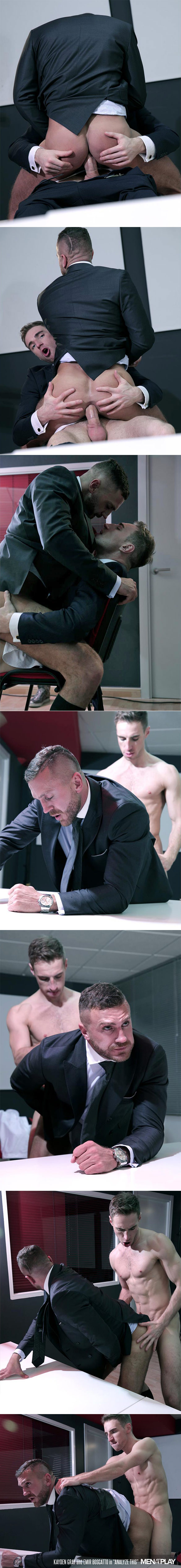 "MenAtPlay: Emir Boscatto bottoms for Kayden Gray in ""Analyze This"""