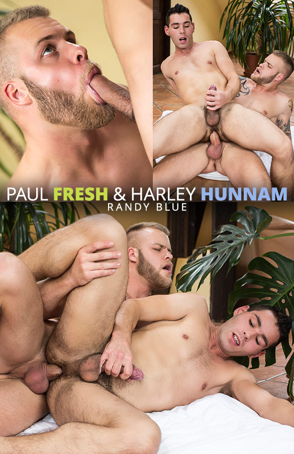 Randy Blue: Paul Fresh barebacks Harley Hunnam