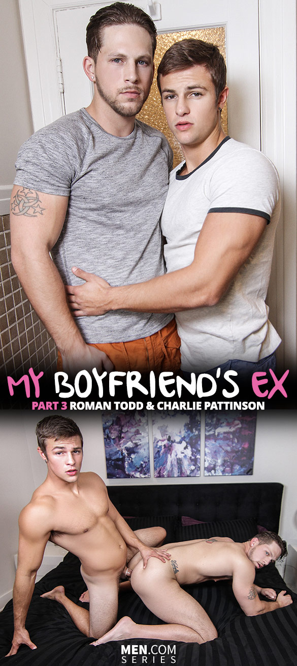 "Men.com: Roman Todd bottoms for Charlie Pattinson in ""My Boyfriend's Ex, Part 3"""