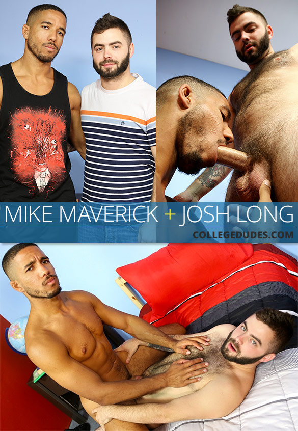 CollegeDudes: Josh Long fucks Mike Maverick