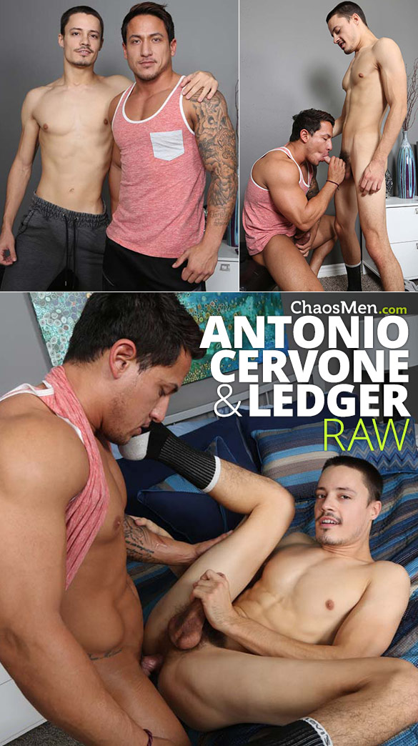 ChaosMen: Ledger fucks Antonio Cervone raw
