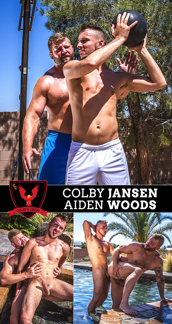 "Colby's Crew: Aiden Woods and Colby Jansen flip fuck in ""Shooting Hoops"""