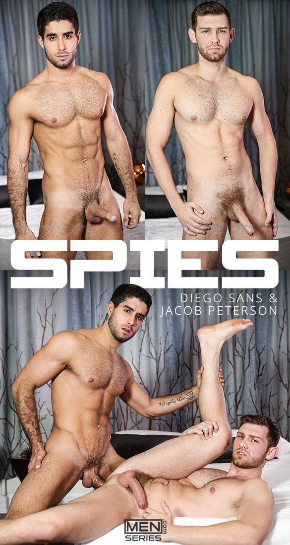 "Men.com: Diego Sans bangs Jacob Peterson in ""Spies, Part 2"""