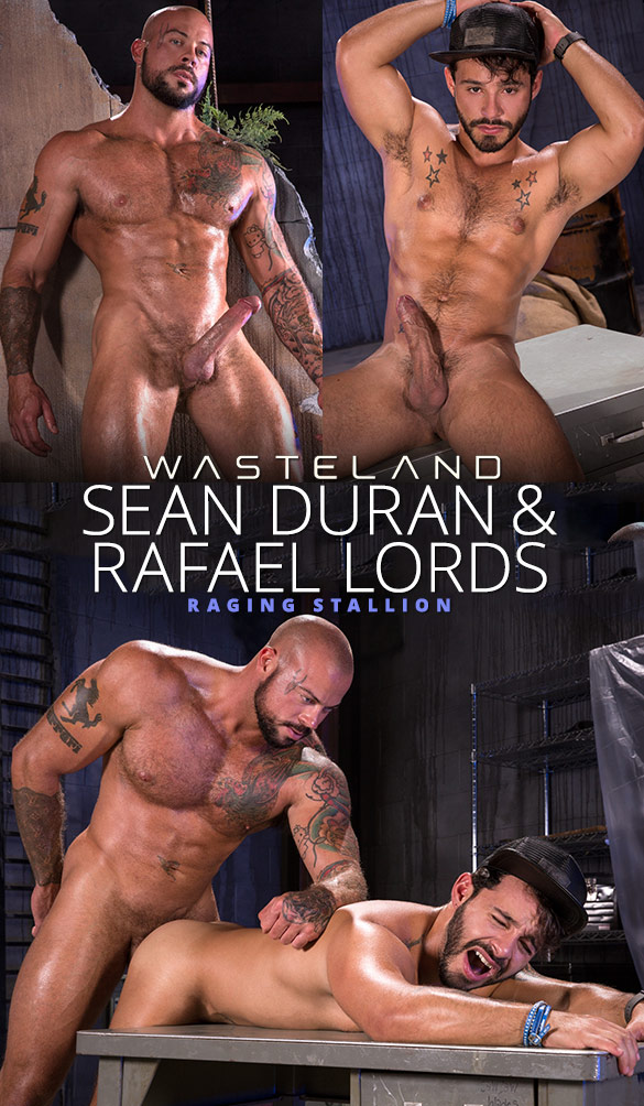 "Raging Stallion: Sean Duran pounds Rafael Lords in ""Wasteland"""