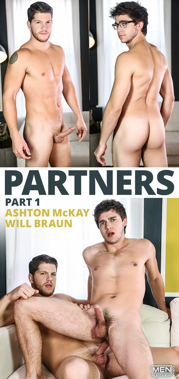 "Men.com: Ashton McKay fucks Will Braun in ""Partners, Part 1"""