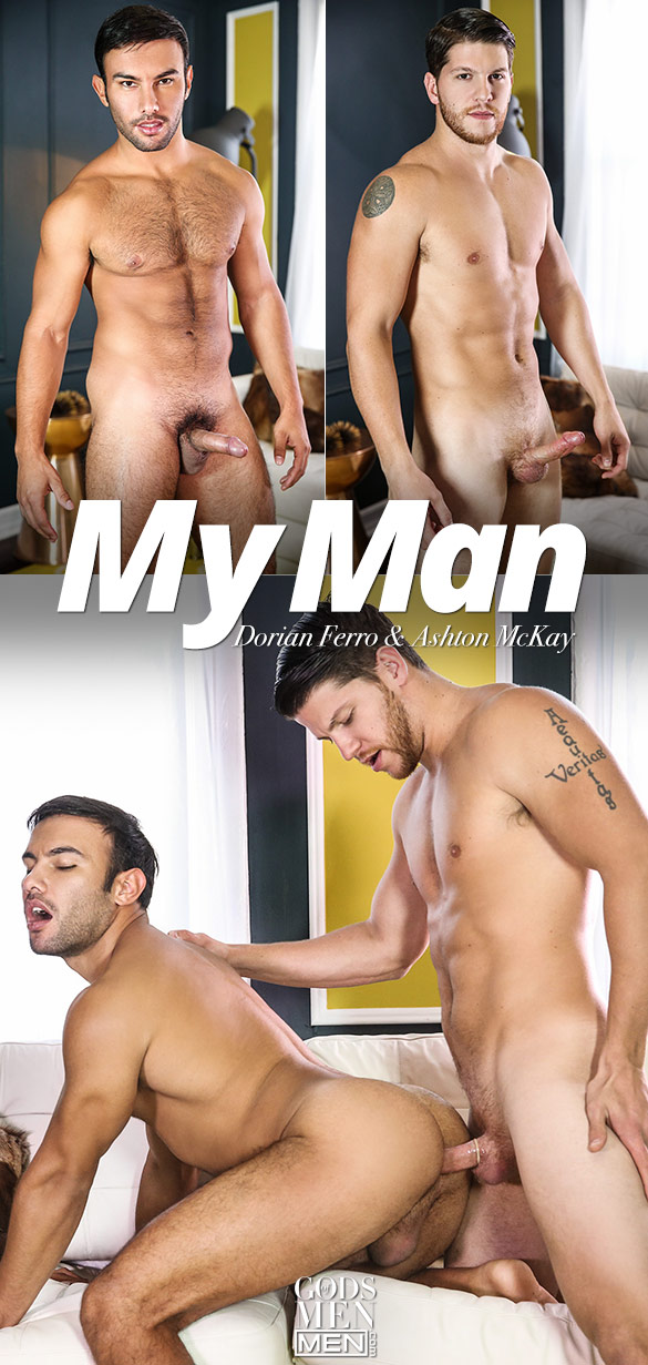 "Men.com: Ashton McKay bangs Dorian Ferro in ""My Man"""