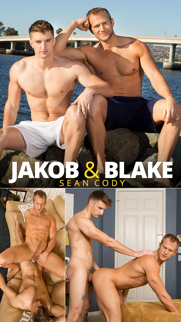 Sean Cody: Jakob's first gay fuck with Blake