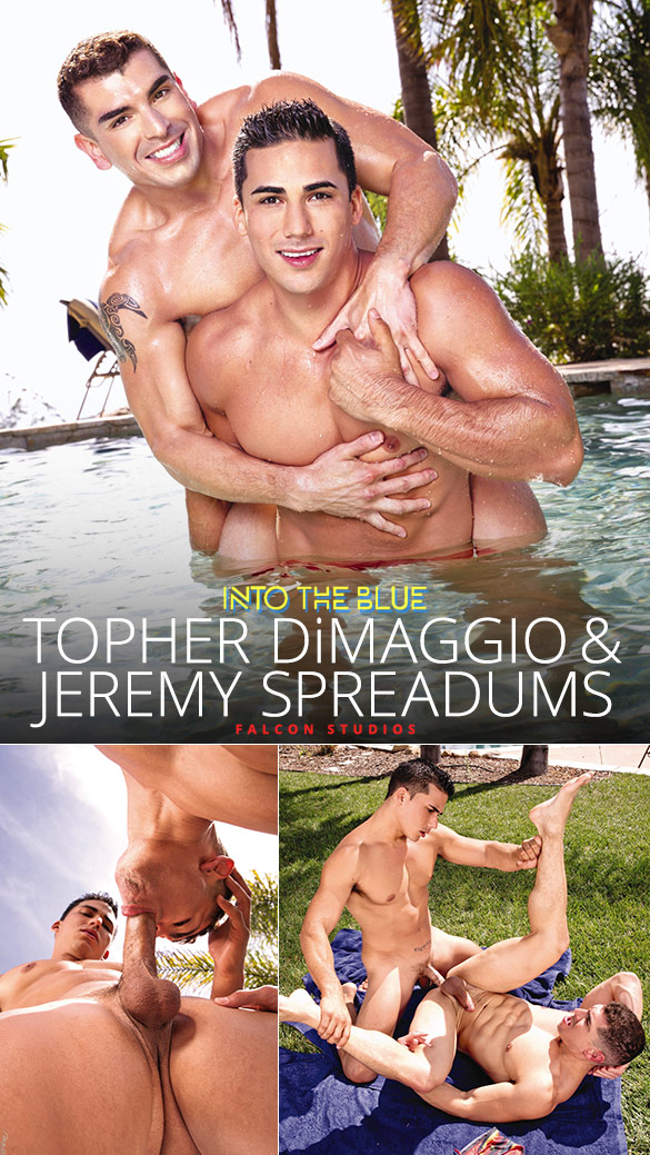 "Falcon Studios: Topher DiMaggio fucks Jeremy Spreadums in ""Into the Blue"""