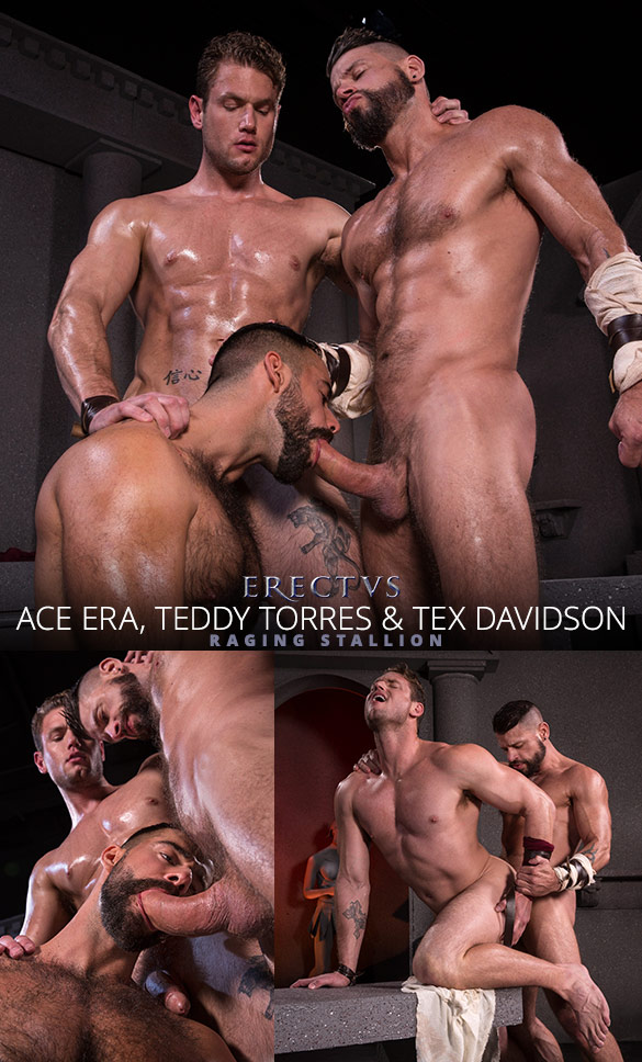 "Raging Stallion: Tex Davidson, Ace Era and Teddy Torres in ""Erectus"""