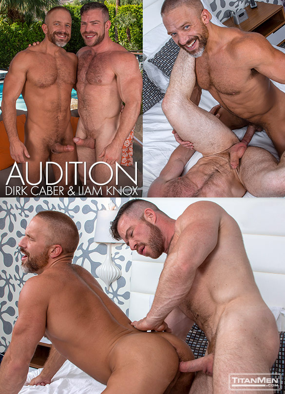 "TitanMen: Liam Knox and Dirk Caber flip fuck in ""Audition"""