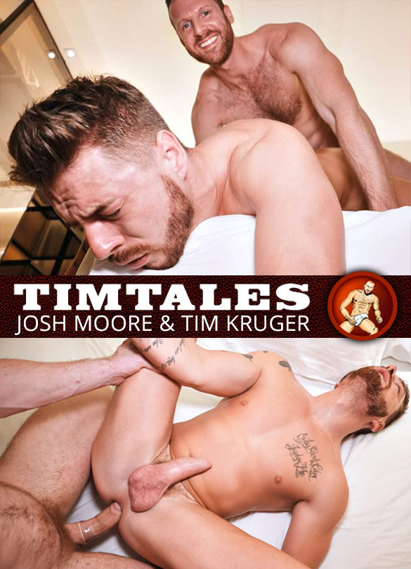 TimTales: Josh Moore gets pounded by Tim Kruger and his 10-inch cock