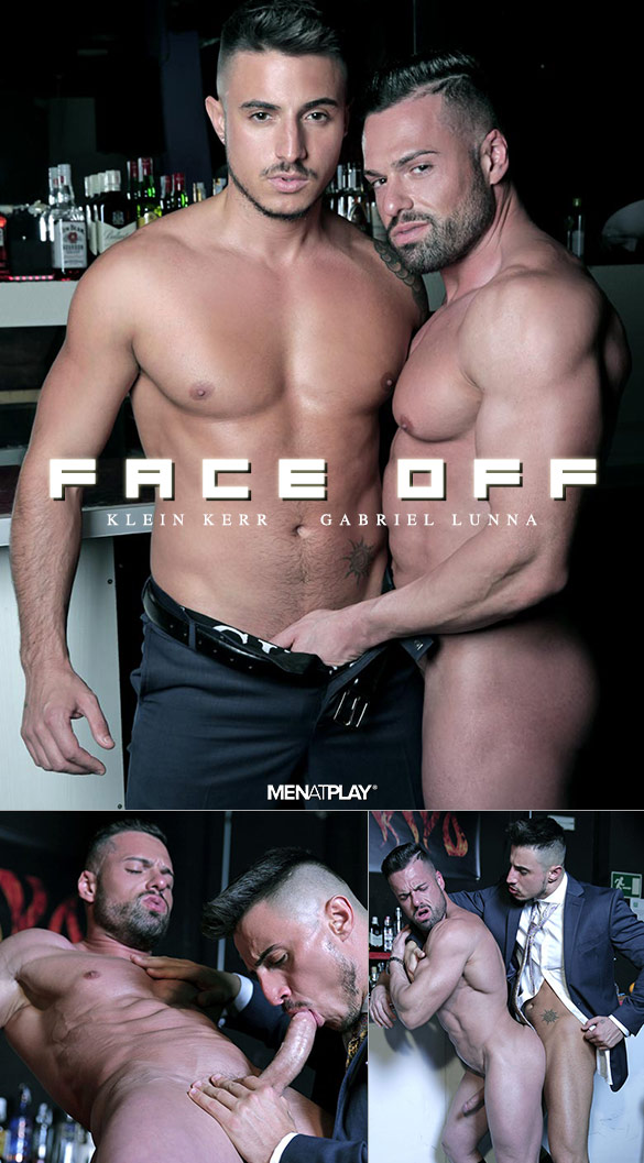 "MenAtPlay: Klein Kerr fucks Gabriel Lunna in ""Face Off"""