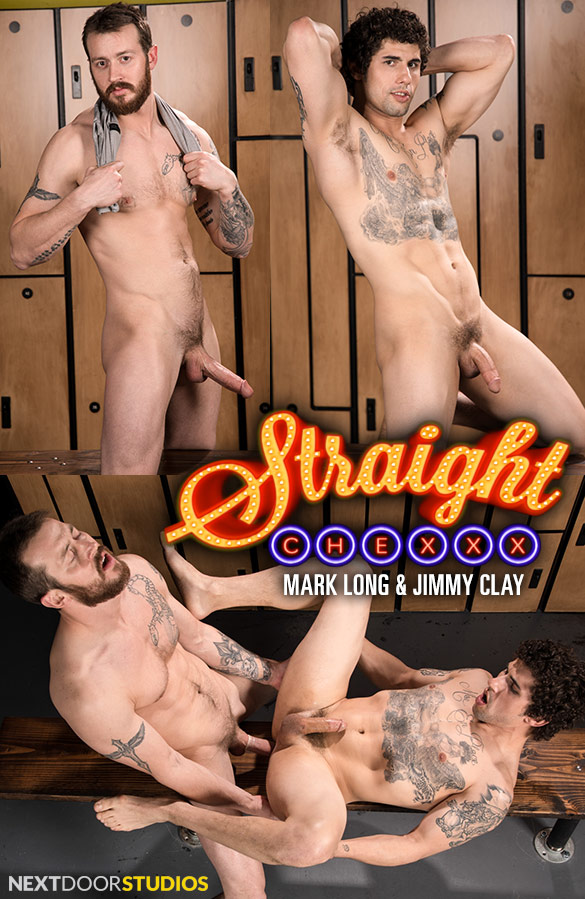 "Next Door Studios: Mark Long fucks Jimmy Clay in ""Straight Chexxx, Episode 1: Daydreams and Tech"""