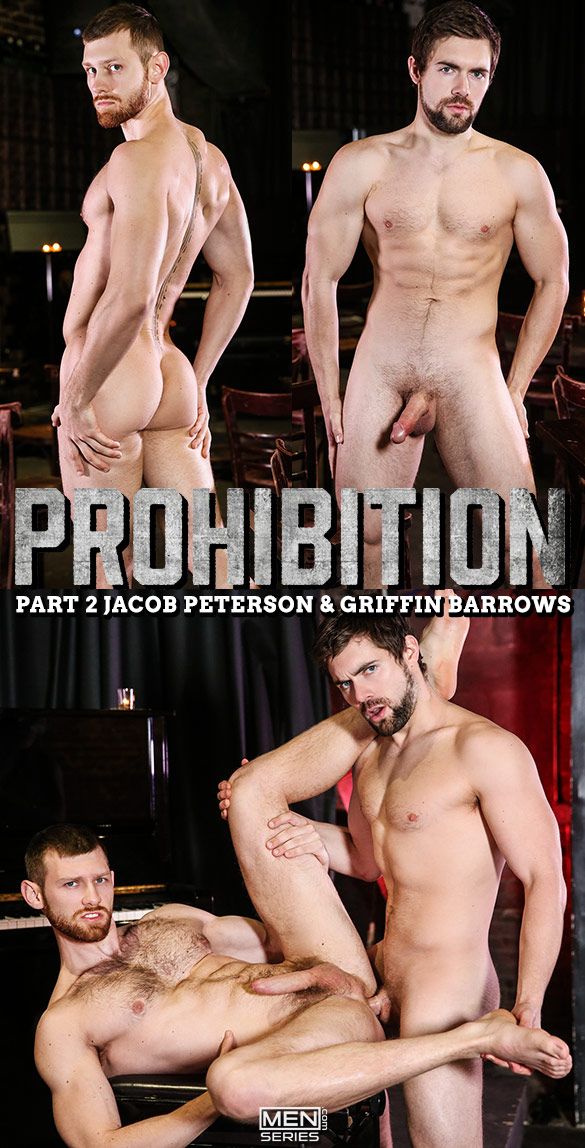 "Men.com: Griffin Barrows fucks Jacob Peterson in ""Prohibition, Part 2"""