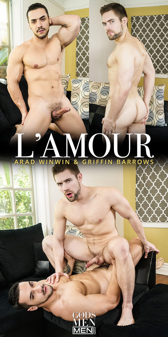 "Men.com: Arad Winwin fucks Griffin Barrows in ""L'Amour"""