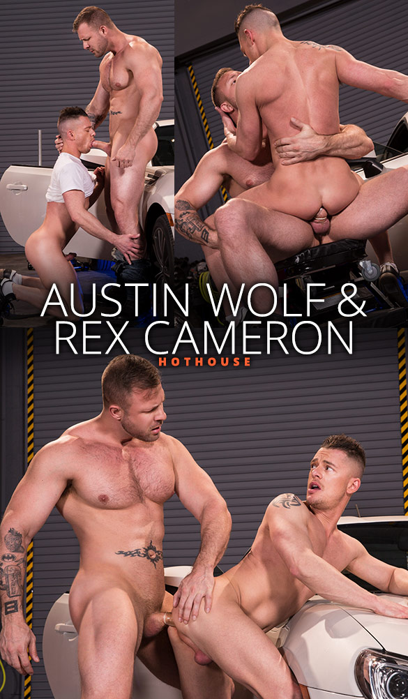 "HotHouse: Austin Wolf bangs Rex Cameron in ""Overpowered"""
