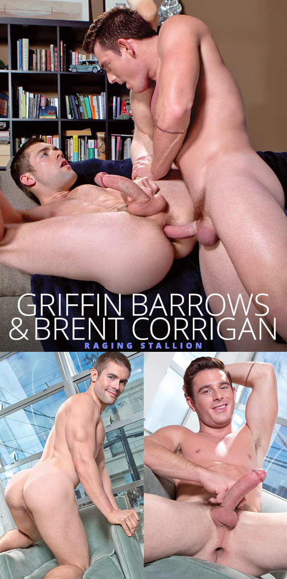 Raging Stallion: Brent Corrigan fucks Griffin Barrows