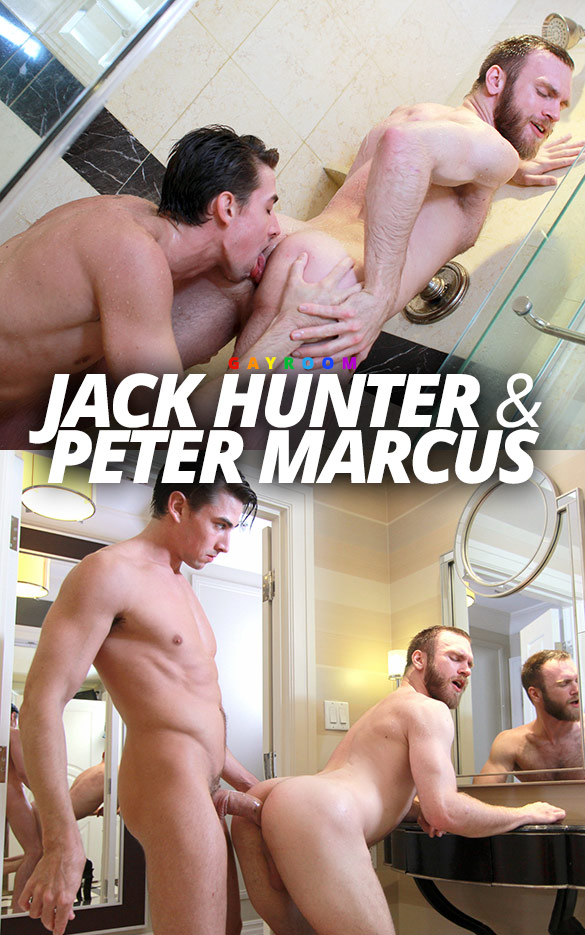 "GayRoom: Jack Hunter fucks Peter Marcus in ""Wet & Furry"""