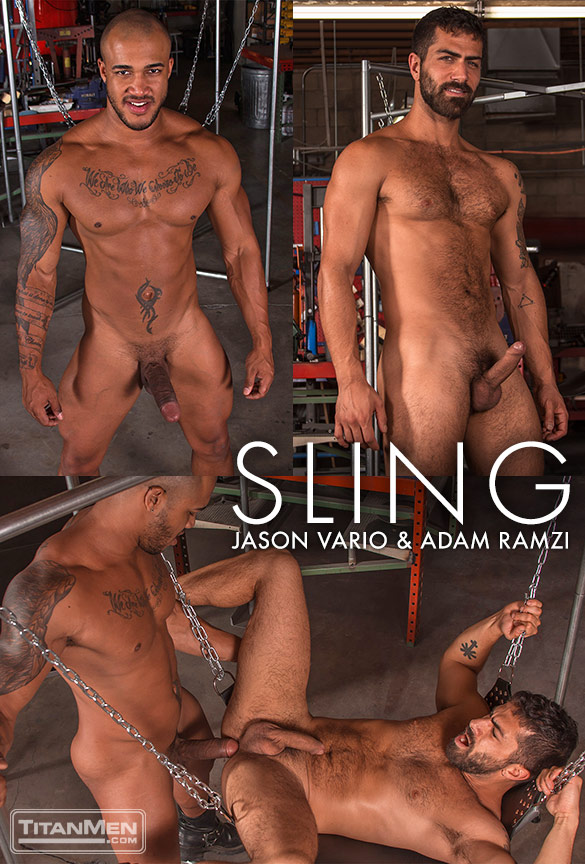 "TitanMen: Jason Vario bangs Adam Ramzi in ""Sling"""
