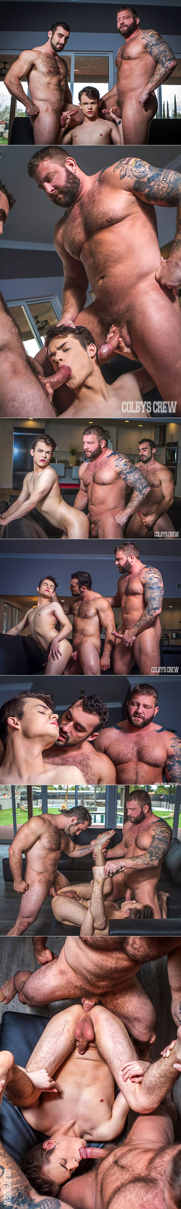 """Colby's Crew: Colby Jansen and Jaxton Wheeler tag team Abe Andrews in """"Don't Tell Mom, Part 3"""""""