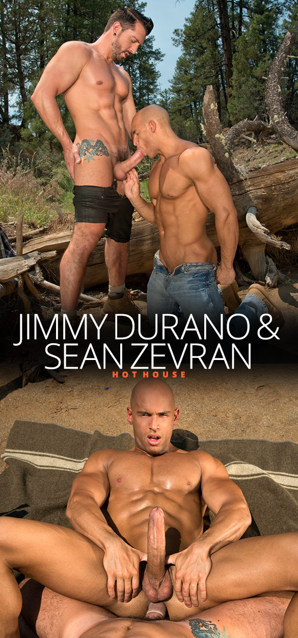 HotHouse: Sean Zevran takes Jimmy Durano's thick cock