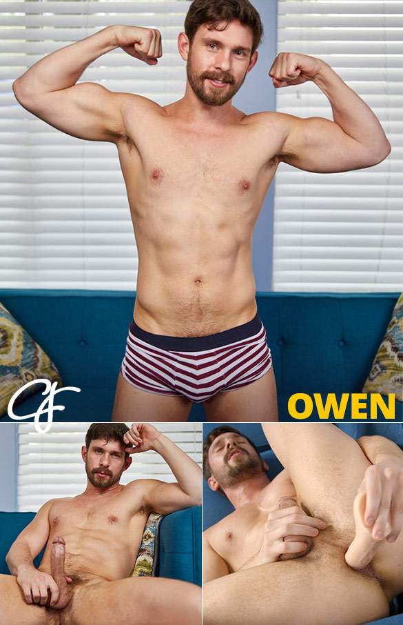 Corbin Fisher: Owen fucks himself