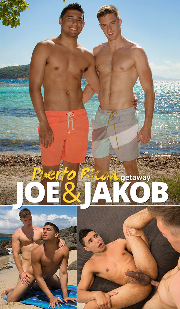 "Sean Cody: Jakob creams Joe in ""Puerto Rican Getaway, Day 3"""