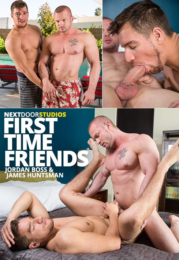 "Next Door Studios: James Huntsman fucks Jordan Boss in ""First Time Friends"""