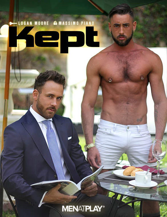 "MenAtPlay: Logan Moore and Massimo Piano fuck each other in ""Kept"""
