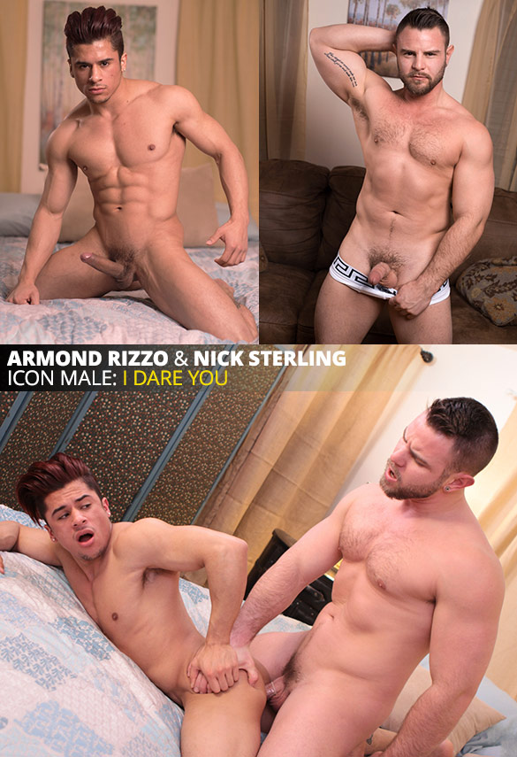 "IconMale: Nick Sterling bangs Armond Rizzo in ""Truth or Dare"""