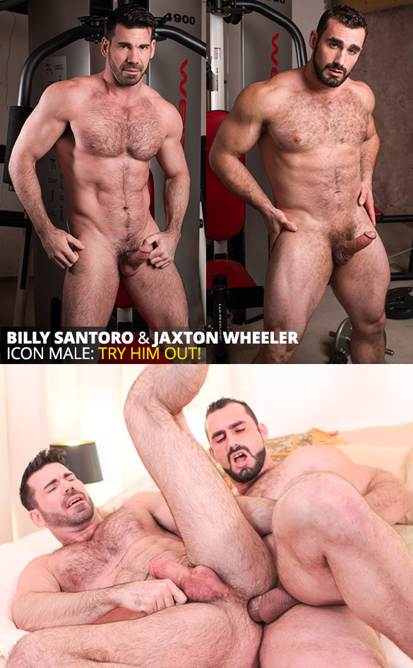 "IconMale: Jaxton Wheeler tops Billy Santoro in ""Boyfriend Swap"""