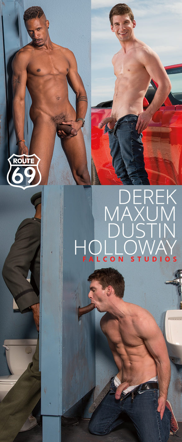 """Falcon Studios: Dustin Holloway and Derek Maxum service each other in """"Route 69"""""""