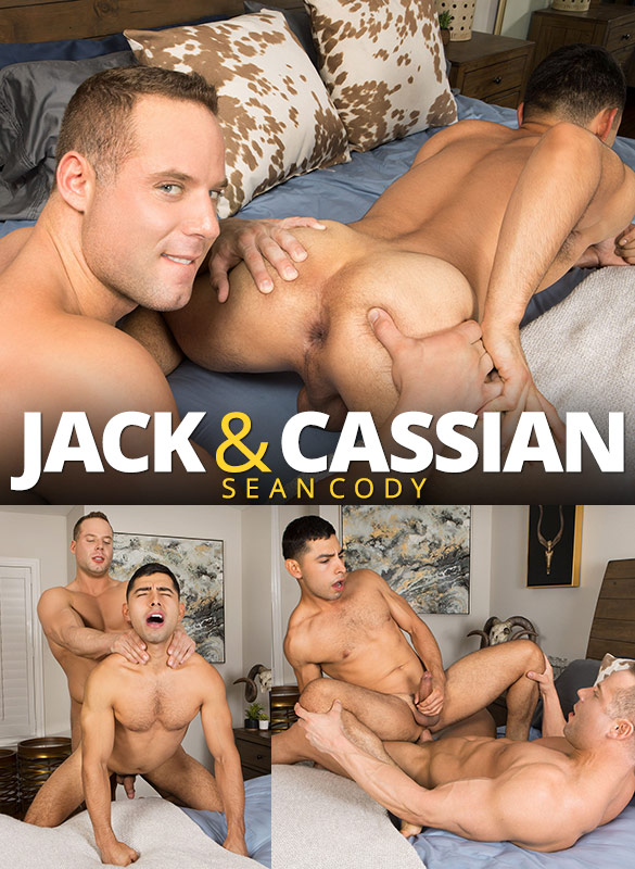 Sean Cody: Jack bangs Cassian's eager hole bareback