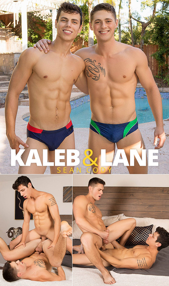 Sean Cody: Kaleb bangs Lane bareback