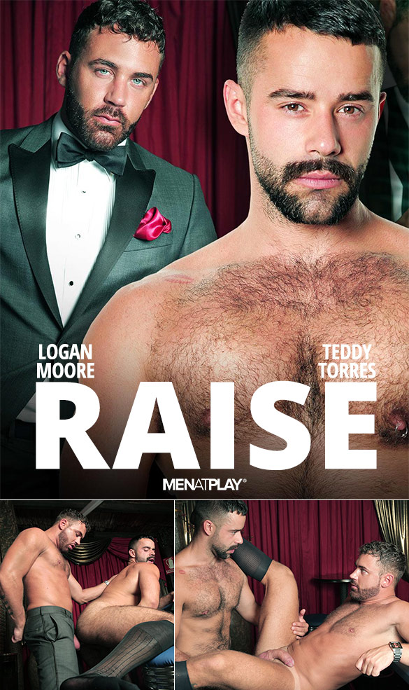 "MenAtPlay: Logan Moore and Teddy Torres bang each other in ""Raise"""