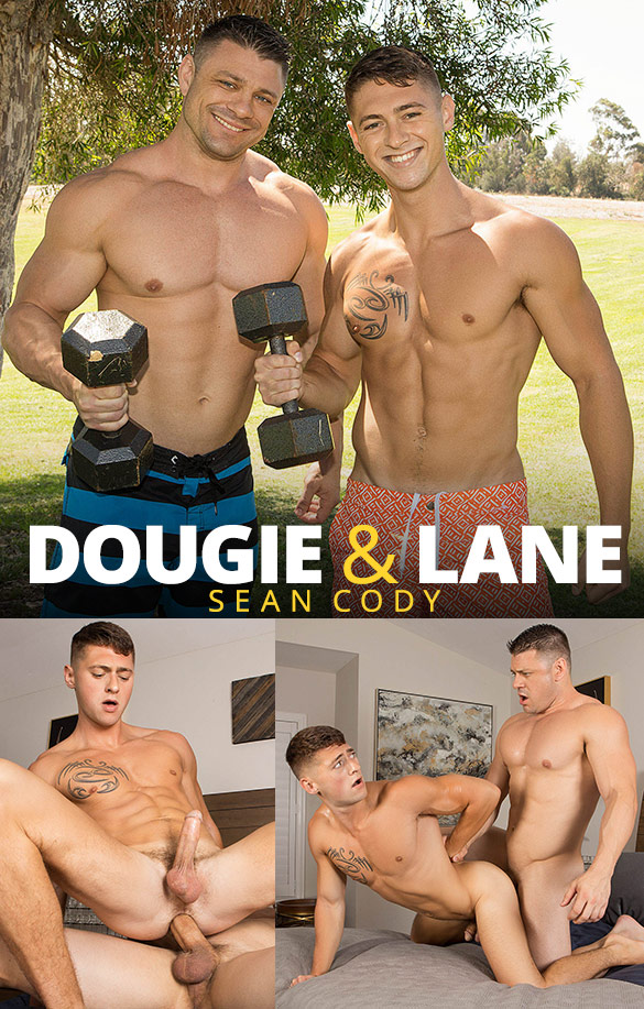Sean Cody: Muscle hunk Dougie pounds Lane raw